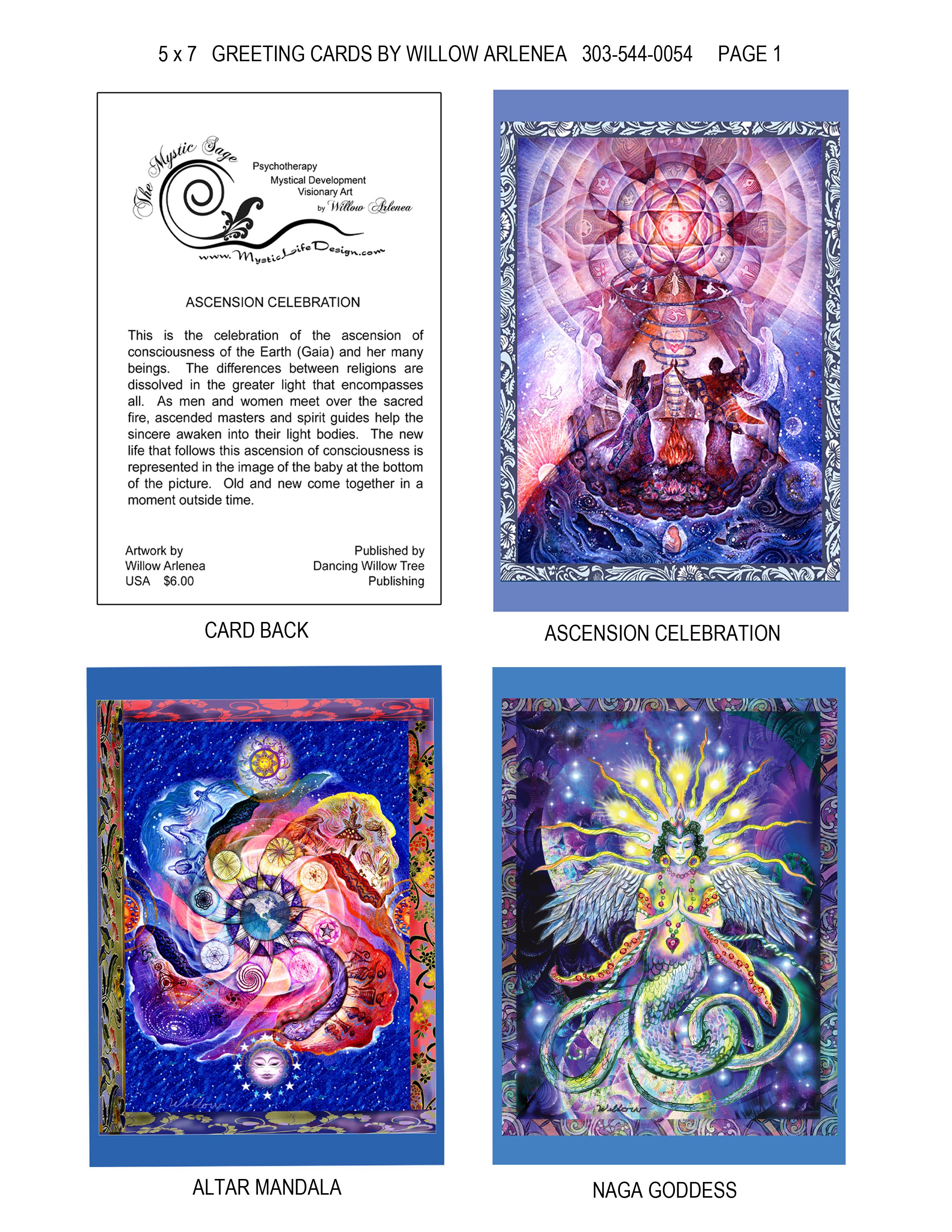 a. pg 1. 4 Up Greeting Card Flyer naga